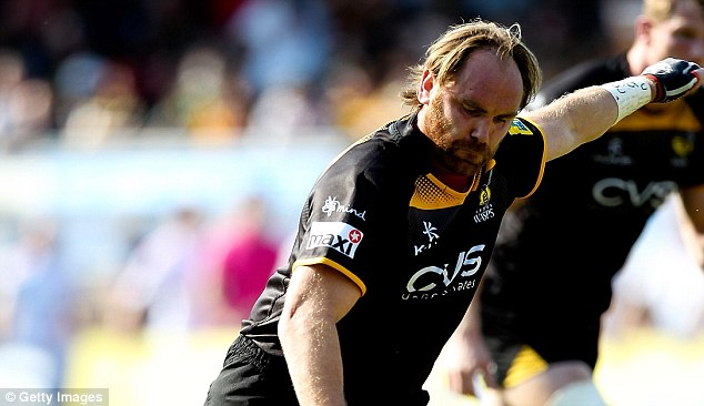 Close: Wasps nicked the win with an Andy Goode (pictured) penalty
