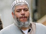 Guilty verdict: Hate preacher Abu Hamza, 56, who was extradited from the UK in 2012, has been found guilty of terrorism offences in New York on Monday night
