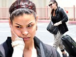 Someone's got the post-Vegas blues! Jordin Sparks looks downright miserable as she jets back into LA following the Billboard Music Awards
