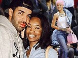 New love? Drake shared a photo with his 'boo' Brandy Prince on Saturday