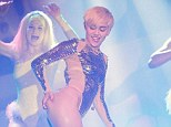If you say so: Miley Cyrus was so impressed with the way her fans in Birmingham were willing to join in her naughty behaviour that she branded it the 'sluttiest city'