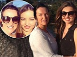 'Therese had been fainting for a week': Miranda Kerr's mum was hospitalised for tests, say her PA who added that she's usually as strong as an Ox