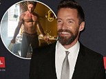 Hugh Jackman reveals he was asked to wear a bright green sock to cover his modesty while filming nude scenes for the new X men movie