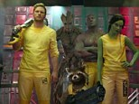 Motley crew: Peter Quill (Chris Pratt), Groot (Vin Diesel), Rocket Racoon (Bradley Cooper) Drax The Destroyer (Dave Bautista) and Gamora (Zoe Saldana) as featured in the new Guardians Of The Galaxy trailer