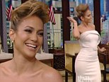 'Marc passed his voice to her' Jennifer Lopez credits daughter's musical talents to ex Anthony... as she shows off dance moves on Kelly And Michael