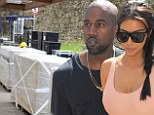 PICTURED: Wedding preparations underway at Kim Kardashian and Kanye West's rumoured venue in Italy