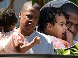 Doting Jay Z takes two-year-old daughter Blue Ivy for day out in New Orleans