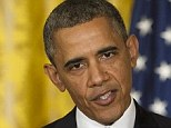 First of many flashbacks: Facing revelations that his IRS had played political favorites and intentionally hamstrung tea party groups, Obama said that he 'first learned about it from the same news reports that I think most people learned about this'