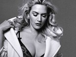 'I don't f**k around!' A lingerie-clad Kate Winslet vows to push her career to the next level after becoming a mother for the third time