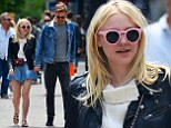 Dakota Fanning steps out with Jamie Strachan