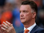 Incoming: Louis van Gaal was named as Manchester United's new manager on Monday