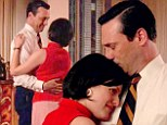 SPOILER ALERT: Don Draper shows his tender side and shares a dance with Peggy on the latest episode of AMC's Mad Men