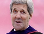 Secretary of State John Kerry delivered the commencement address at Boston College today Monday, May 19, 2014, in Boston, Massachusetts. Kerry spoke to graduating students about the need for U.S. action on climate change to prevent future calamity both at home and abroad