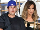 'I'm aware that I'm fat': Rob Kardashian defends weight gain in scolding tweets... and sister Khloe's got his back