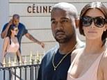 Kim Kardashian and Kanye West splash out  $8,000 on designer clothing splurge in Paris before weekend wedding