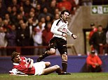 Brilliant: Giggs scored a superb goal in the FA Cup semi-final against Arsenal but too often he was ineffectual
