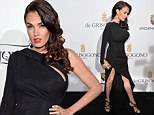 Tamara Ecclestone oozes old Hollywood glamour as she showcases her legs in thigh slit gown at Cannes dinner