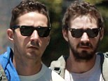 Shia LaBeouf ditches his scruffy beard and debuts clean shaven look as he runs errands in LA