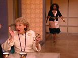 Oprah told how, when she was first starting out, she got over her nerves by just pretending to act like she would expect Barbara Walters to act