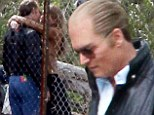 Well she does like an older man! Amber Heard interrupts filming on Black Mass for a steamy smooch with star Johnny Depp... who sports a receding hairline for the movie
