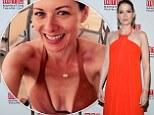 New figure: Debra Messing, 45, reveals her newly slimline bikini body in a sexy selfie after losing 20lbs