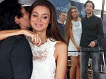 Adrien Brody puts on an amorous display on the Cannes red carpet with his stunning girlfriend Lara Lieto who wowed in white lace