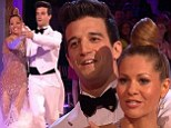 Mark Ballas removes his sling to perform on DWTS despite injured arm ... as James Maslow is eliminated