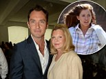 Jude Law spotted with Josephine Miller at charity lunch... years after he famously cheated on her daughter Sienna with his children's nanny
