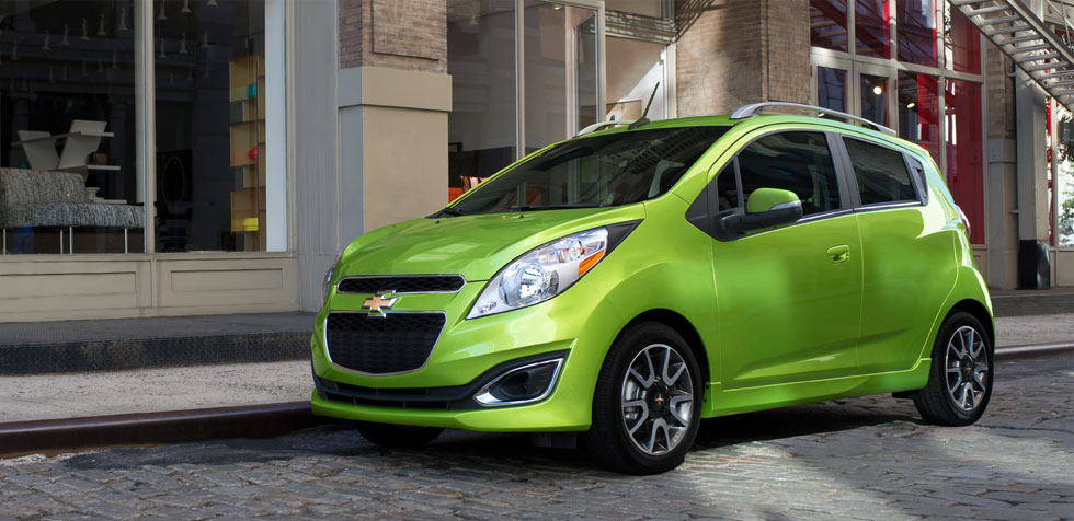 Example of modest car - Chevy Spark!