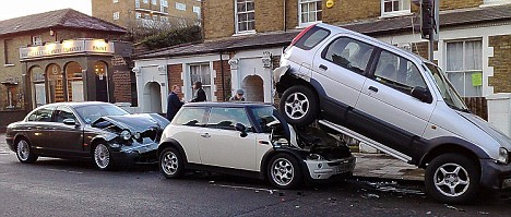 Car insurance protects you financially when something like this happens.