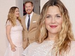 It's only been a month! Drew Barrymore looked pretty in pink as she attended yhe premiere of Blended at the TCL Chinese Theatre in Hollywood, California on Thursday - since welcoming her daughter Frankie in April