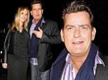 Happy birthday dear Scottine! Charlie Sheen in  high spirits as he treats porn star fiancee to celebratory dinner in Los Angeles