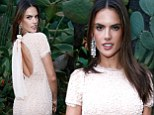 Sent back from heaven! Victoria's Secret Angel Alessandra Ambrosio shows she does not have a bad side