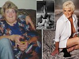 'I look better now than I did at 22 - and I want to celebrate it!' Former pub landlady, 56, marks 14 STONE weight loss and ?30k of cosmetic surgery with nude photoshoot