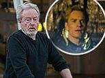 Down Under: Sir Ridley Scott arrived at Sydney airport on Wednesday to begin a 'secret project' which we now know is Prometheus 2