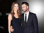 Twice the love: Adam Levine and Behati Prinsloo, pictured in April, will reportedly wed in Mexico before heading to South Africa for a second celebration