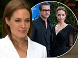 'He's my family': Angelina Jolie lifts the lid on rock-solid relationship with Brad Pitt as she confirms they'll star together in 'very experimental, independent film'