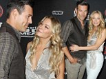 The look of love: LeAnn Rimes and Eddie Cibrian enjoy flirty night out fuelled by Bacardi as they celebrate Cuban Independence Day in Brooklyn