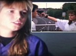 Killer looks! Heidi Klum sports baggy '80s outfits and goes on a shooting spree as a teenage actress in a student film