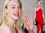 The 20-year-old actress wore subtle make-up and carried a black purse before a showing of Night Moves in New York City.
