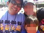 Fearful: Though the smiles and happy pictures, police see a woman who was too terrified to go to authorities for years in the belief she or her family would be deported