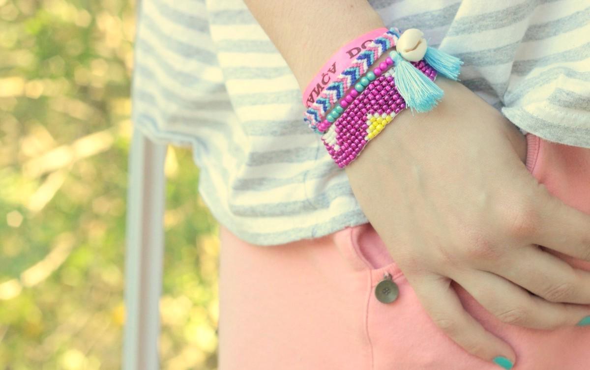 Bracelet hipanema style DIY