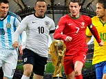 World Cup warm-up fixtures