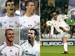 Real stars: Madrid have spent £1billion on players since last winning the Champions League