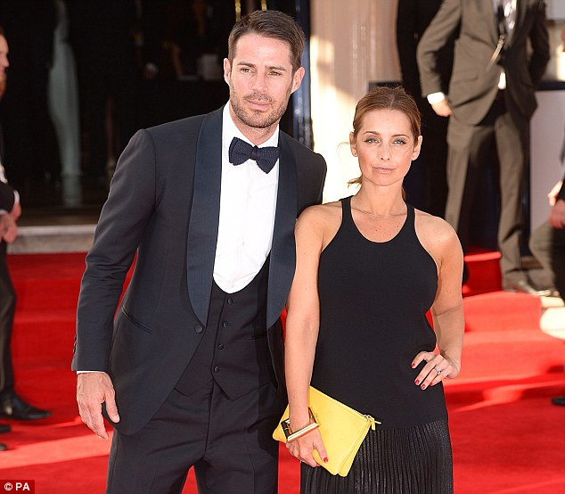 Looking good: Mr and Mrs Redknapp pose for the cameras outside the Theatre Royal in London