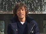 Idyllic setting: Sir Mick Jagger has taken to Twitter to post his first picture since the death of his partner L'Wren Scott as he prepares to return to the stage with The Rolling Stones in Oslo on Monday