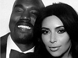 The happy couple: Thanks to social media, the world got to take a glimpse of the wedding of Kanye West and Kim Kardashian