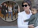 The Kardashians leave Florence