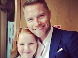 'Love ya angel'! Ronan Keating jets back to Ireland from Boyzone concert in Dubai for daughter¿s First Holy Communion