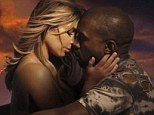 Putting on a show: The couple caused a huge stir when Kim and appeared in Kanye's video for his track Bound 2 topless and sitting astride him on a motorbike in November 2012